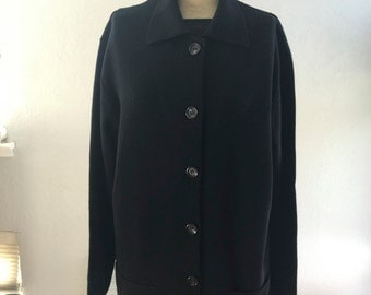 Italian Black Wool Jacket