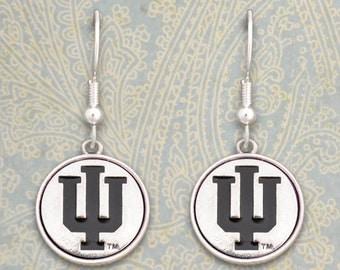 Indiana Hoosiers Medallion Earrings