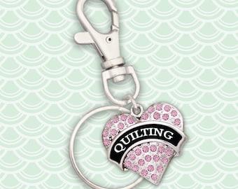 Quilting Keychain Zipper Pull - 54674