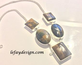 Tiger Eye Necklace, gemstone necklace, boho jewelry,vintage style jewelry,