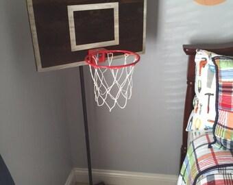 Vintage Designed Handpainted Basketball Wall Decor Piecegreat