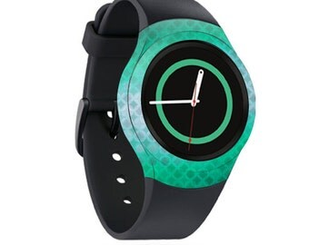 Skin Decal Wrap for Samsung Gear S2, S2 3G, Live, Neo S Smart Watch, Galaxy Gear Fit cover sticker Green Dream