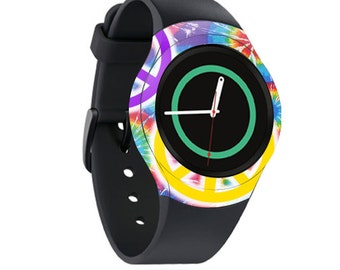 Skin Decal Wrap for Samsung Gear S2, S2 3G, Live, Neo S Smart Watch, Galaxy Gear Fit cover sticker Peaceful Explosion