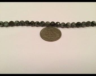 black laboradite beads- 28 beads