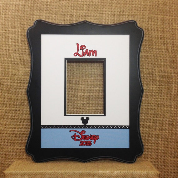 Disney Inspired Autograph Photo Mat Matte For