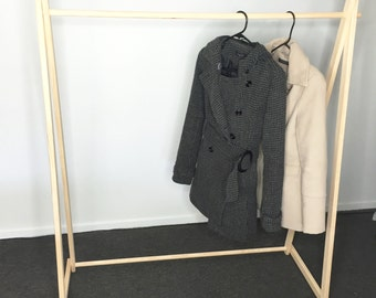 Adult Clothing Rack, Adult Garment Rack, Adult Clothes Rack, Wooden Clothes Rack, Wooden Clothing Rack, Wooden Garment Rack, Market Display