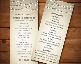 Diy Wedding Template Program