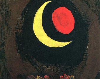 Paul Klee: Strong Dream. Fine Art Print/Poster (001458)