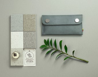 iphone 5 / iphone 5s cover leather case wallet gray case apple sleeve iphone leather cover for iphone 5 case phone cover