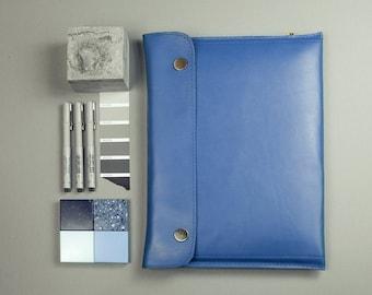 MacBook 15'' pro RETINA case bag for macboook pro 15 sleeve genuine leather wool felt light blue laptop sleeve macbook pro case for macbook