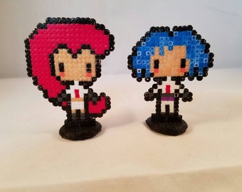 Team Rocket Jessie / James / Both / with 3d Printed Stands