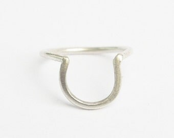 U - Stackable and Comfortable Solid Sterling Silver (92.5)