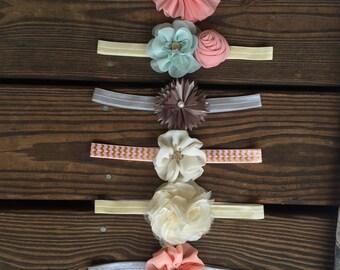 Baby Children Toddler Flower Elastic Headband