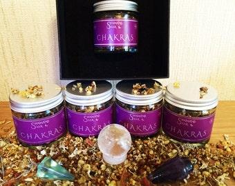 Chakras Loose Natural Incense - Premium