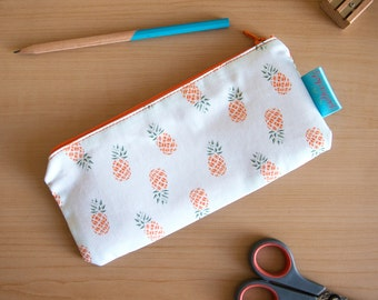 Pineapple Pencil Case / Back to School