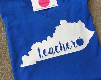 Kentucky Teacher Shirt