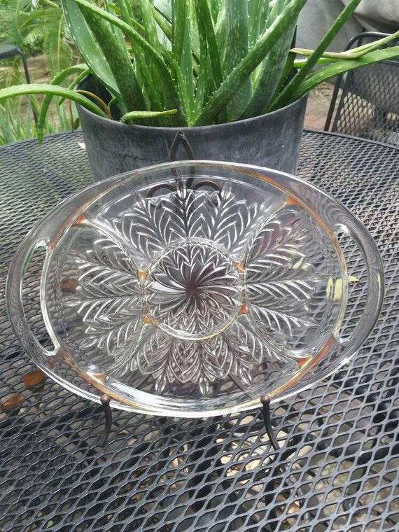 Vintage Glass Tray 4