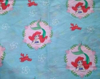 Disney Ariel Little Mermaid Fabric