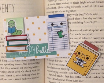 Magnetic Bookmarks • I Love Books