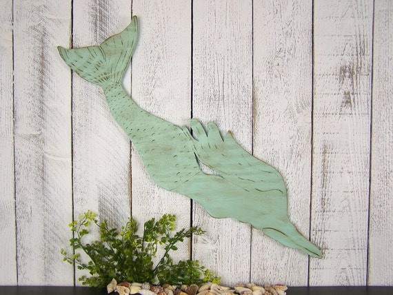 Wooden Mermaid Wall Decor swimming mermaid wooden mermaid sign little mermaid wall decor