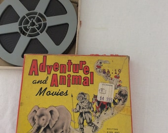 8mm castle film Adventure and animal movies 625 Deep sea adventure