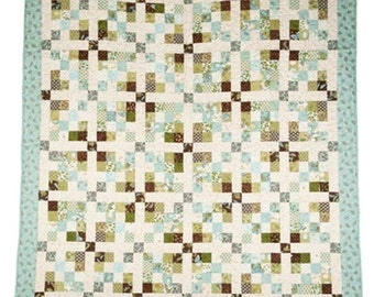 Framed by Diamonds Quilt Pattern Download (802702)