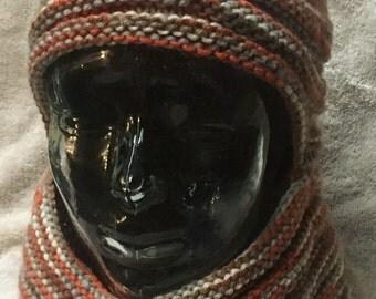 Knit hat/ cowel