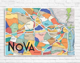 NOVA Neighborhood Map