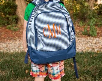 Monogrammed Pre-School/Toddler Backpacks