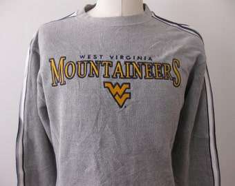 Vintage West Virginia University WVU sweatshirt starter adult medium