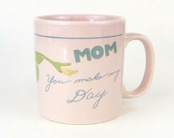 """Vintage Mom """"You Make My Day"""" mug"""