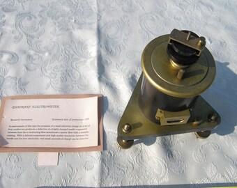 ca1890 Chas. R. Stryker Quadrant Electrometer