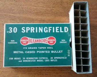 Springfield Kleanbore Remington .30 ammo box
