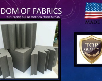 Acoustic Sound Proof Foam Corner Kit. Sold By the Kit.