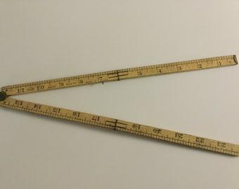 Number 48 Lufkin folding ruler