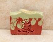 Soap Organic Soap Strawberry Soap Moisturizing Soap Dry Skin Soap Uptown Girl Soap