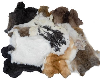 Assorted Rabbit skins Lots.