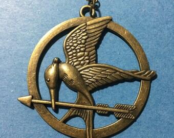 Bird and arrow Necklace