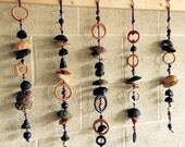 One of a kind ceramic wind chime