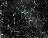 8.5sqft Black Marble Print Leather Cowhide Leather Skin for shoes, sandals, bags, upholstery, cushion cover 35x35inch