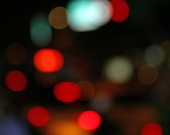 Red Dots at Night