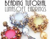 LUNASOFT EARRINGS TUTORIAL / pdf instant tutorial
