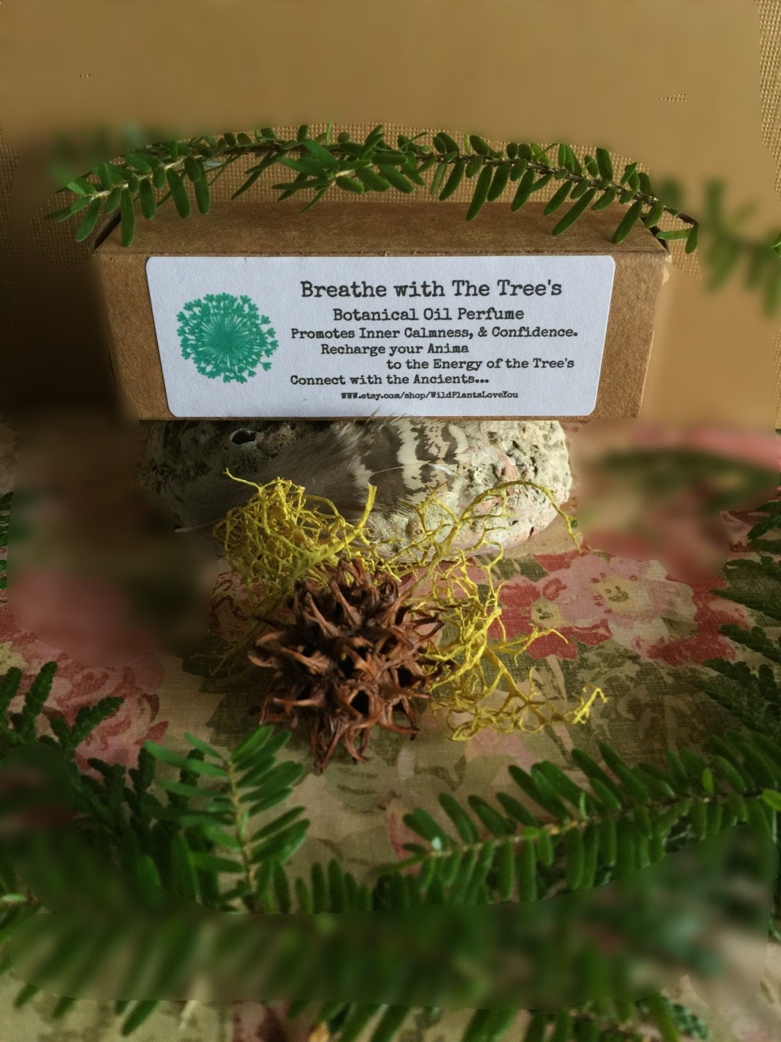 Breathe With The Trees Botanical Perfume