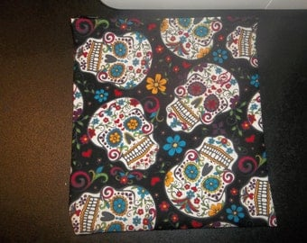 Skull make up bag