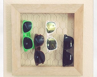 Nuetral sunglass holder