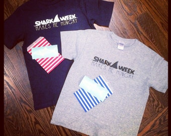 Shark Week Toddler and Infant Shirts