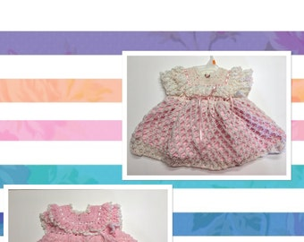 Infant Girl Crochet Gowns