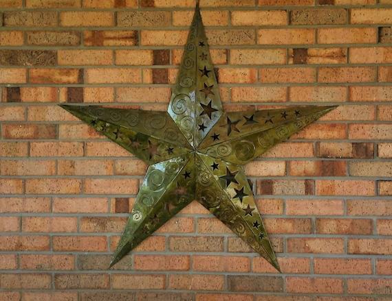 Large 3D Metal star, Metal Wall Decor, Handmade Wall Decor, Handmade Metal Star, Metal Wall Art, Outdoor Wall Decor, Outdoor Metal Art