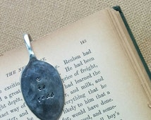 Love To Read - Bookmark Hand Stamped Engraved Vintage Tea Spoon Page Clip