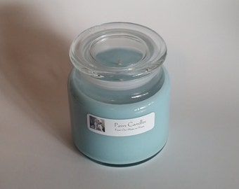 SPECIAL: 16oz Apothecary Clean Cotton with Flat lid.